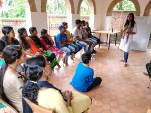 Experience sharing session by Radhika