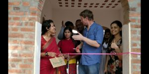 Monsoon Cafe Inauguration by Paul Kronenberg, co-founder at Kanthari