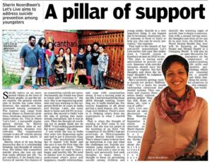 Deccan Chronicle Article featuring Let's Live